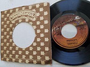 """VERNON BURCH - Brighter Days 1978 MONO / STEREO PROMO (EX) Disco Funk 7"""""""