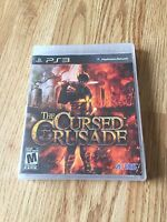 The Cursed Crusade Sony PlayStation 3 PS3 Game New Sealed MT1
