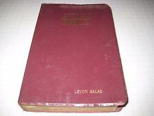 vintage holy bible  levon salas