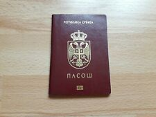 Republic Of Serbia, Collectible Biometric passport, Cancelled