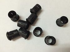 50pcs 8mm Black Plastic LED Clip Holder Case Cup Mounting USA Free Shipping