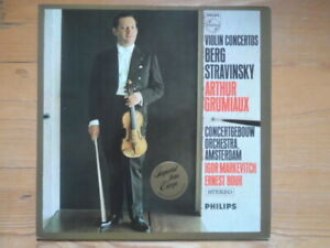 Arthur Grumiaux-Berg & Stravinsky-Concertos for Violin and Orchestra-Markevitch
