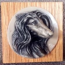 Afghan Hound 3 Dimensional Plaque #32 - Lot Ralph Massey
