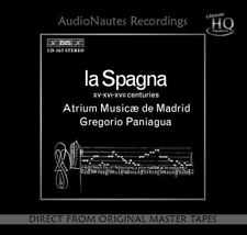 Gregorio Paniagua La Spagna Numbered, Limited Edition Japanese Import UHQCD NEW