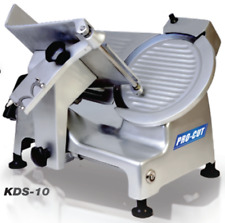"""New 10"""" Meat Cheese Deli Slicer Pro-Cut Kds-10 #9905 127V Electric 1/3 Hp Nsf"""