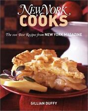New York Cooks: The 100 Best Recipes from New York Magazine Duffy, Gillian Hard