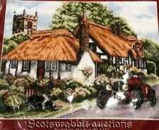 NEW Older Anchor Kit VILLAGE OF WELFORD ENGLAND Counted Cross Stitch Kit