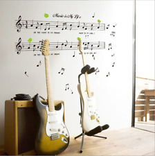 Music Note Removable Decal Home Room Decor Art Wall Sticker Wallpaper DIY SUSTOR