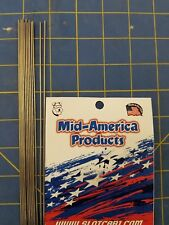 Mid America Products Stainless steel tubing .050    10 Pieces 1/24 Drag Slot Car