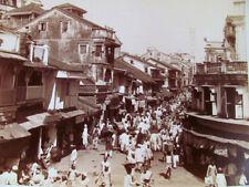 c. 1880 Large Albumen Photograph of Mumbai (Bombay) India