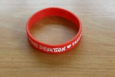One Direction Red Take Me Home Tour Bracelet
