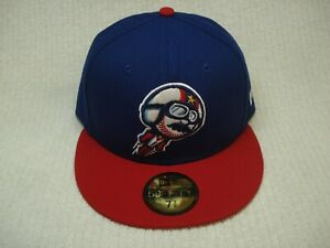 Kannapolis Cannon Ballers Dale Earnhardt fitted hat cap 7 3/8 new era 5950 Milb