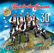 30 JAHRE KASTELRUTHER SPATZEN - PLANET DER LIEDER - DOPPEL CD - LADENNEU