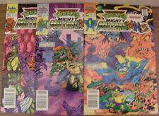 MIGHTY MUTANIMALS 1-3 ARCHIE COMIC SET COMPLETE TMNT CLARRAIN MITCHRONEY 1991 VF