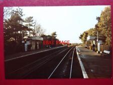 PHOTO  LONG EATON RAILWAY STATION 11/86