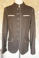 Veste marron neuve marque Schneiders taille 40 100% laine vierge étiqueté à 489€
