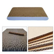 UK Cat Kitten Cardboard Corrugated Sofa Pad Scratching Scratcher Mat Board Bed