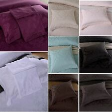 Pillow Cases Pair - 100% Egyptian Cotton 500 Thread Count Damask Jacquard Design