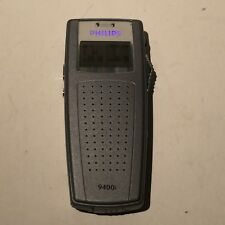 Philips 9400i Handheld Digital Voice Recorder - Tested Working - Fast Shipping