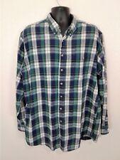 Cabela's 2X Tall Mens Cotton L/S Flannel Multicolor Button Down            L60