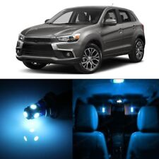 10 x Ice Blue LED Lights Package Mitsubishi Outlander Sport 2011 - 2017 + TOOL