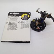 Heroclix DC Elseworlds set Leatherwing #043 Super Rare figure w/card!