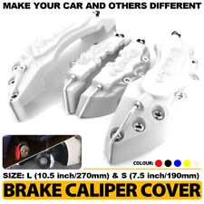 Disc Brake Caliper ABS Silver 3D Style Front Rear Universal Car Truck Covers L+S