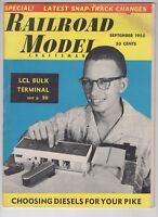 Railroad Model Craftsman September 1955