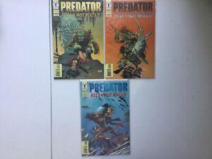 Predator Hell & Hot Water 1-3 Complete Schultz Colan VF/NM