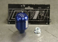 Blackworks Racing 10x1.5 Aluminum 6061 6 Speed Type R Style Shift Knob Blue