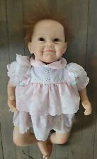 "Andrea Arcello Reborn Doll Toddler Baby Girl Female 2010 22"" Realistic"