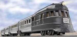 Lionel 6-31771 Prewar Flying Yankee Passenger Set EX/Box