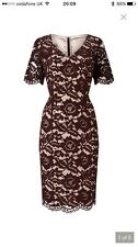 Jacques Vert UK14 Lace Dress BNWT RRP £179 Mother of Bride / Groom wedding guest