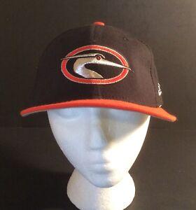 New Era VTG 90s Minor League Baseball Hat Delmarva Shorebirds Blue Snapback