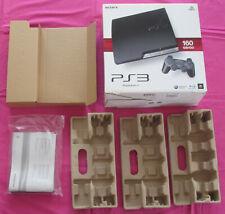Boîte VIDE console Playstation 3 Slim PAL 160 GO CECH-2504A Charcoal Black PS3