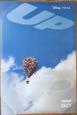 UP MOVIE POSTER 2 Sided ORIGINAL RARE Advance 27x40 EDWARD ASNER DISNEY
