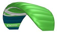 Lenkmatte Vierleiner Kite CrossKites Quattro 4.5 Green Lenkdrachen R2F Drachen