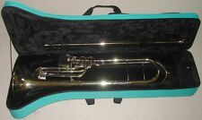 "Rare : Trombone contrebasse ""NAUTILE"" en fa, bassposaume, contra bass trombone"