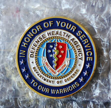 Defense Health Agency DHA - Ft Sam Houston San Antonio Military City USA Coin