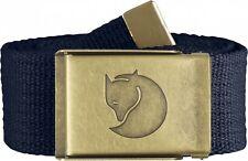 Fjällräven Canvas Brass Belt 4 cm Gürtel - Dark Navy