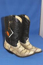 Buffalo Boots Stiefel westernstiefel python schlange cowboystiefel  gr. 40 neu