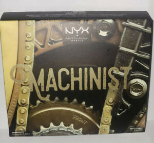 NYX Machinist Grind Eyeshadow Palette Authentic Ltd Edition MACSP01 - New Sealed