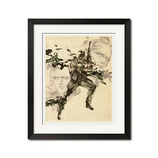 Metal Gear Solid Snake Eater Poster Print