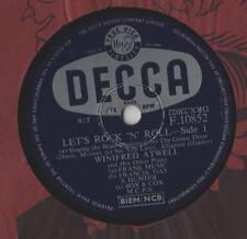 """Winifred Atwell-Lets Rock N Roll 10""""Sgl 1957/78 tr/min"""