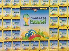 500 CROMOS NUEVOS SIN ABRIR 100 SOBRES / FIFA WORLD CUP BRASIL 2014 PANINI ////