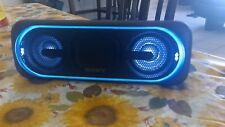 Sony SRS-XB40 Portable Bluetooth Speaker with Lights - Black