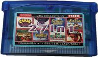 27-in-1 Crash Bandicoot / Spyro / ETC Collection GBA Cartridge, US Seller. Repro