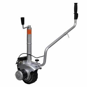 vidaXL Motorised Jockey Wheel Trailer Mover Aluminium 12V 350W Motor Vehicle
