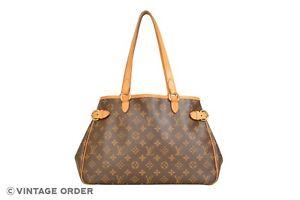 Louis Vuitton Monogram Batignolles Horizontal Shoulder Tote Bag M51154 - YH00253