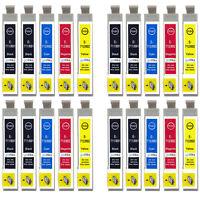 20 Ink Cartridges for Epson Stylus D92 DX5000 DX7450 BX300F SX100 SX218 SX610FW